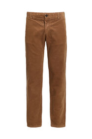 Heren slim fit chino van corduroy_Heren slim fit chino van corduroy, Beige