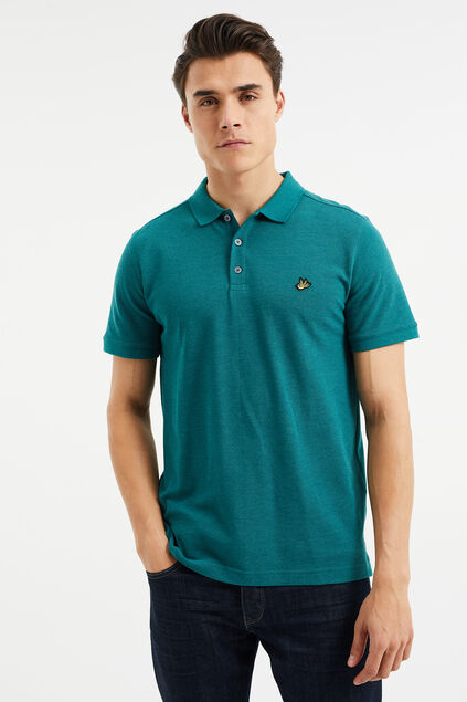 Polo slim fit homme Vert