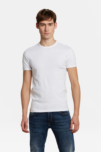 T-SHIRT ORGANIC COTTON HOMME Blanc