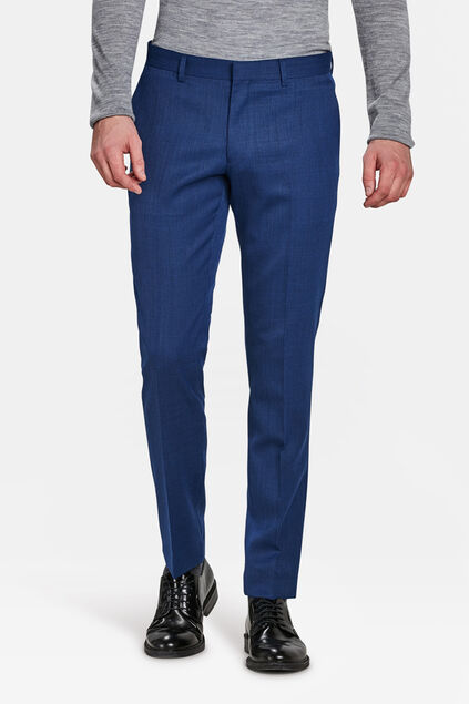 PANTALON SLIM FIT BANDON HOMME Bleu