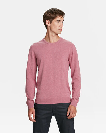 PULL HOMME Rose clair