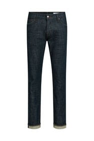 Heren slim fit jeans_Heren slim fit jeans, Marineblauw