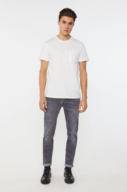 Jeans skinny super stretch homme Gris