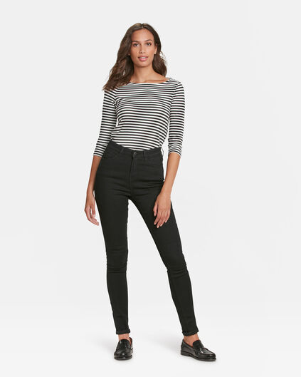 DAMES HIGH RISE SKINNY RECOVERY JEANS Zwart