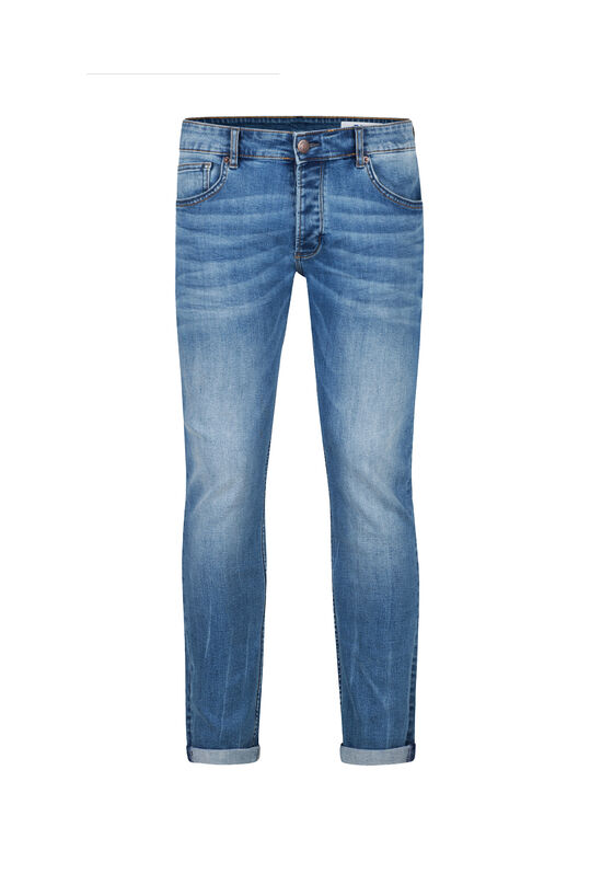 Heren Slim fit comfort stretch jeans Lichtblauw