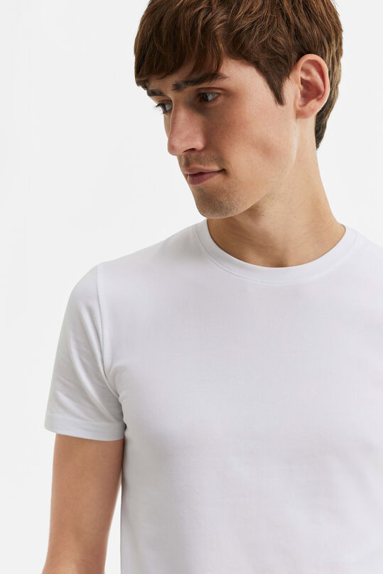 T-SHIRT HOMME BASIC Blanc