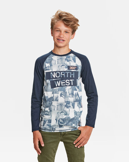 T-SHIRT NORTH WEST PRINT GARÇON Couleur chair