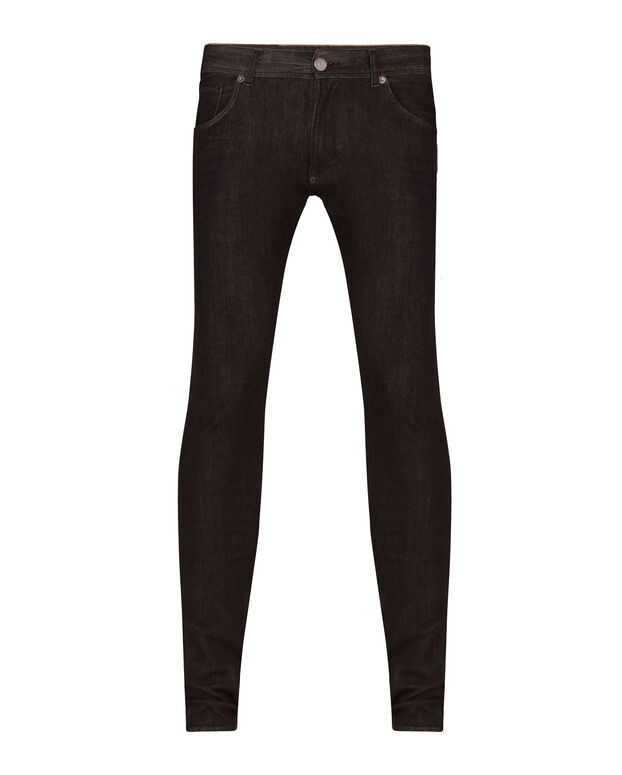JEANS SUPER SKINNY TAPERED SUPER STRETCH HOMME Noir