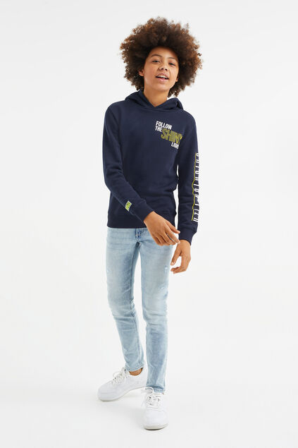 Jongens regular fit jeans Lichtblauw