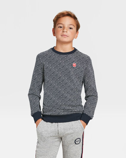 JONGENS GAME SWEATER Donkerblauw
