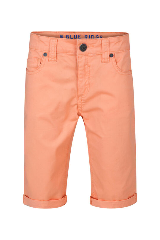 Jongens Slim Fit shorts Oranje