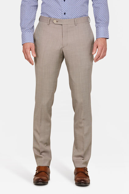HEREN SLIM FIT PANTALON CUTLER Beige