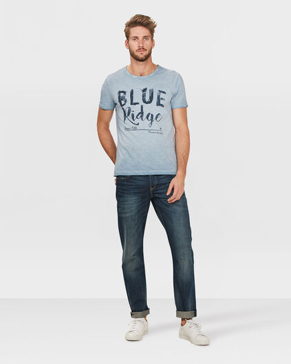 HEREN SLIM STRAIGHT JEANS Blauw