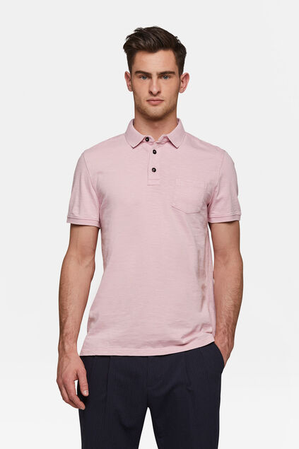 Polo homme Rose
