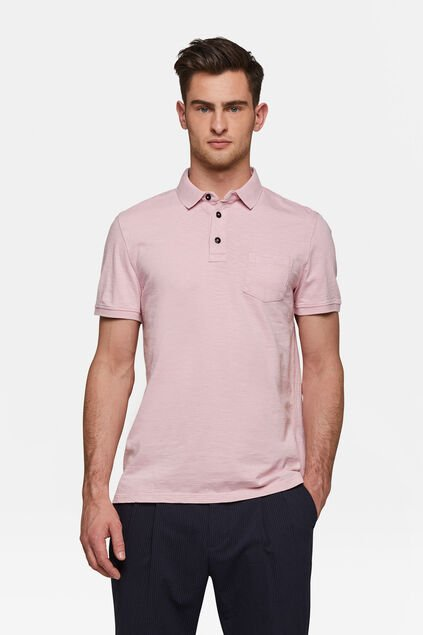 Heren polo Roze