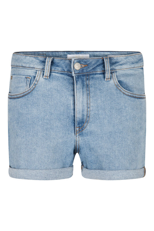 Dames denim short Lichtblauw
