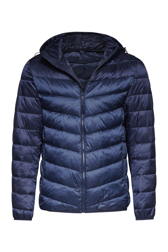 Heren light weight jacket Indigo