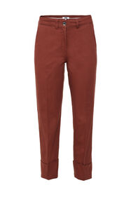 Dames broek met high waist_Dames broek met high waist, Bordeauxrood