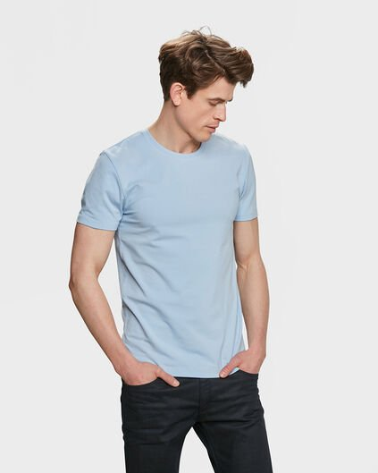 HEREN R-NECK T-SHIRT Indigo
