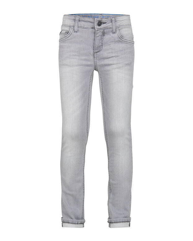 JONGENS SUPER SKINNY POWER STRETCH JEANS Grijs