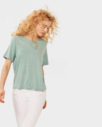 DAMES CUPRO LOW BACK TOP Grijsgroen