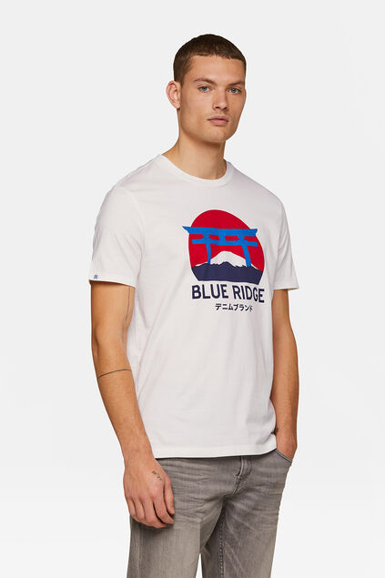 Heren Blue Ridge T-shirt Wit