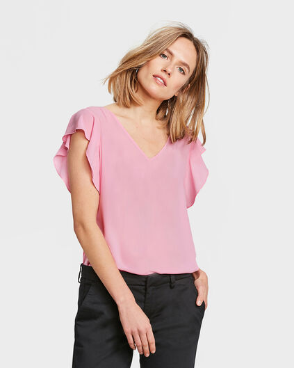 TOP DETAIL DE NOEUD FEMME Rose