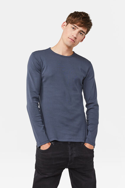 T-SHIRT FUNDAMENTAL Bleu gris