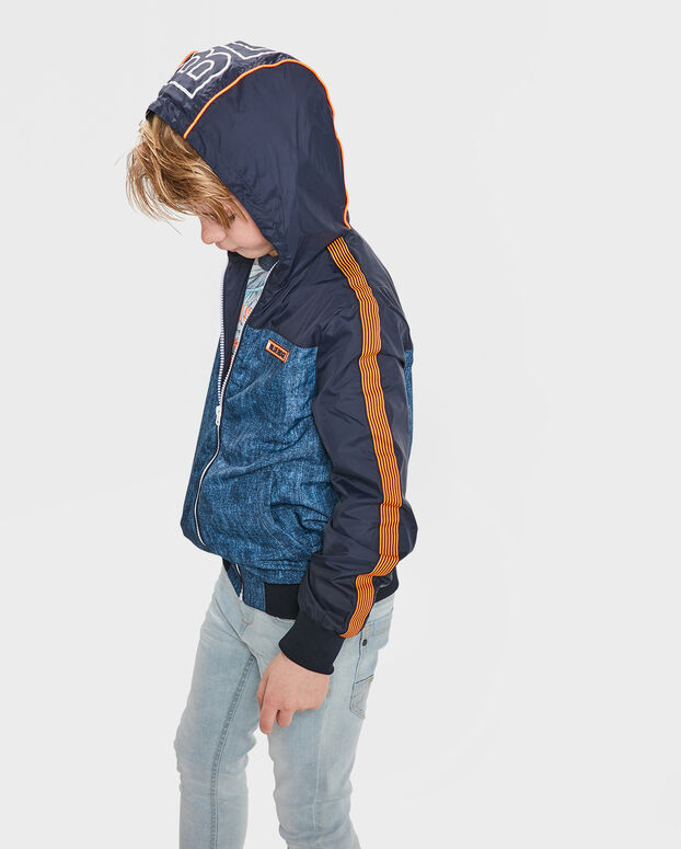 JONGENS BLUE RIDGE JACKET Donkerblauw