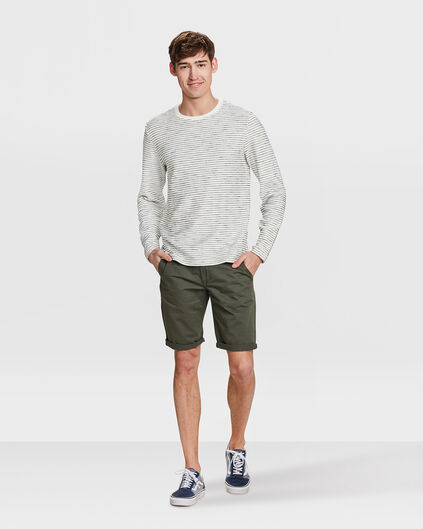HERREN-REGULAR-FIT-SHORTS Vert armee