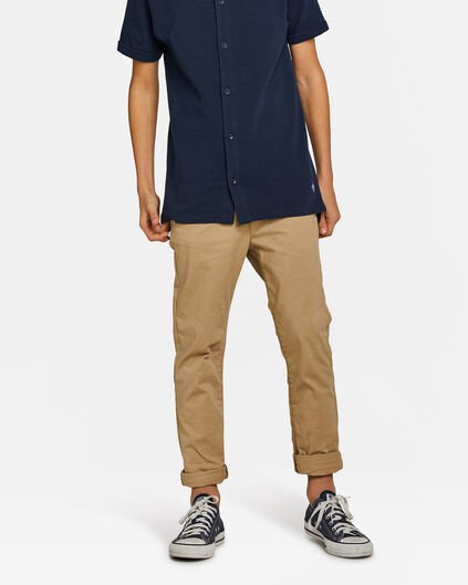 JONGENS REGULAR TAPERED CHINO Beige