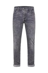 Heren skinny jeans met superstretch_Heren skinny jeans met superstretch, Grijs