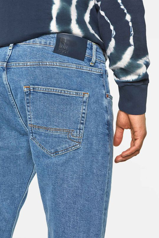 Heren loose fit jeans Lichtblauw