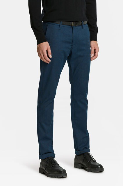 HEREN SKINNY FIT CHINO Blauw