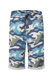 Jongens short met camouflagedessin, All-over print