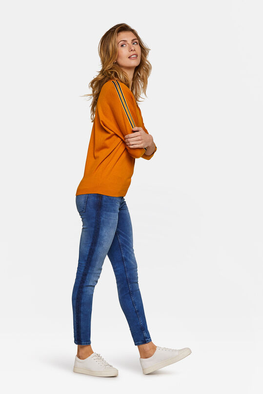 Dames superskinny high stretch jeans Blauw