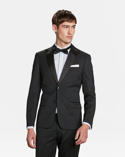 HEREN SLIM FIT BLAZER Zwart