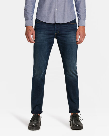 HEREN SKINNY TAPERED COMFORT STRETCH JEANS Indigo
