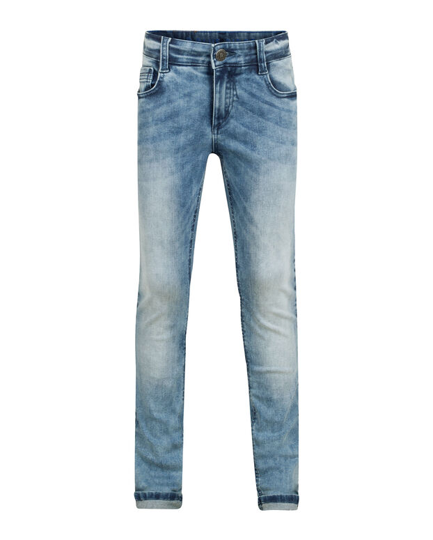 JEANS SUPER SKINNY POWER STRETCH GARÇON Bleu