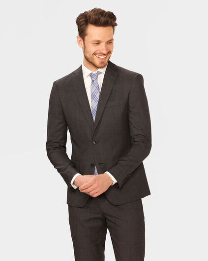 HEREN SLIM FIT BLAZER TOM Donkergrijs