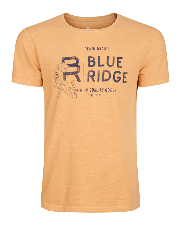 T-SHIRT BLUE RIDGE TIGER HOMME Orange