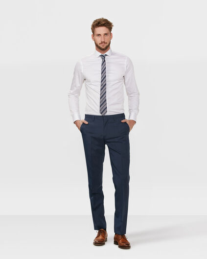 HEREN SLIM FIT PANTALON ELLIOT Blauw