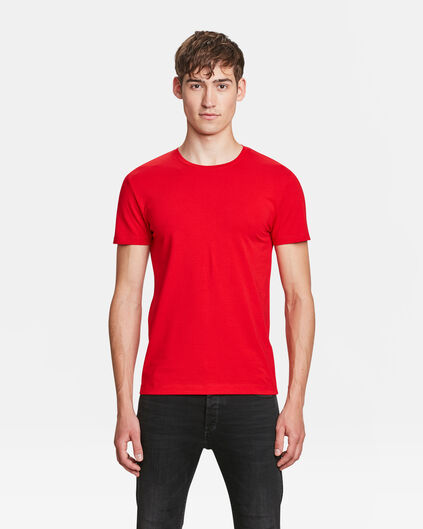 T-SHIRT HOMME BASIC Rouge vif