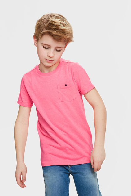 Jongens ONE POCKET T-SHIRT Roze