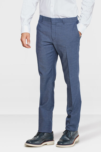 HEREN SLIM FIT PANTALON COLIN Marineblauw