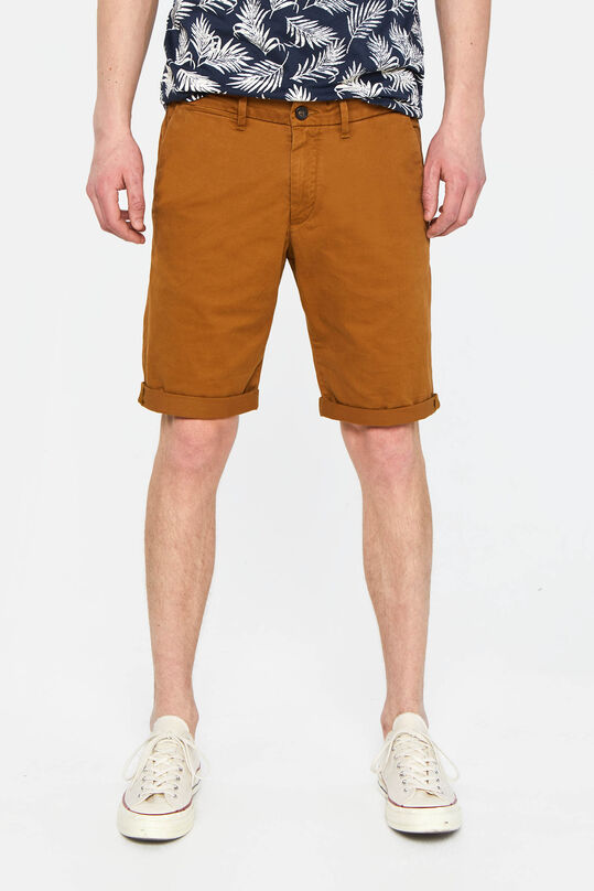 Long short chino homme Brun