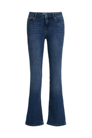 Jeans bootcup mid rise femme_Jeans bootcup mid rise femme, Bleu