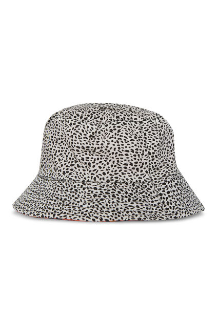 Meisjes reversbile bucket hat met dessin All-over print