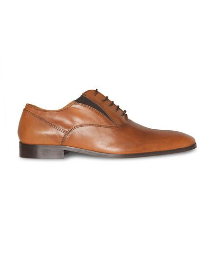 HEREN REAL LEATHER VETERSCHOENEN Cognac