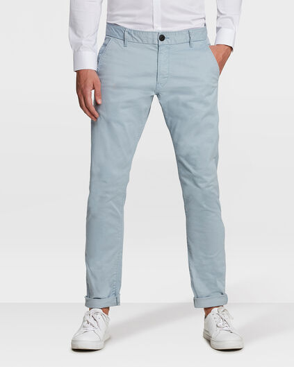 CHINO SLIM FIT CASUAL HOMME Bleu gris